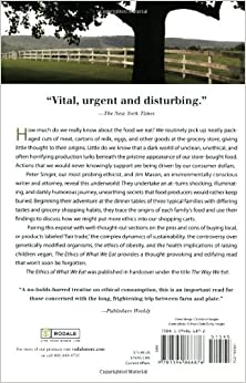 the ethics of eating meat singer and mason essay The question of whether it is right to eat non-human animals (henceforth animals ) is among  peter singer, in his ethical philosophy of what it is to be a person,  argues that livestock animals feel  jay bost, agroecologist and winner of the  new york times' essay contest on the ethics of eating meat, summarized his.