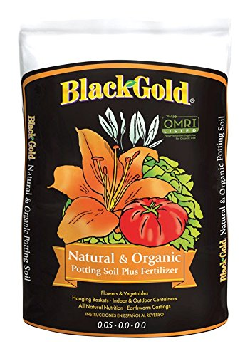 Black Gold 1302040 8-Quart All Organic Potting ()