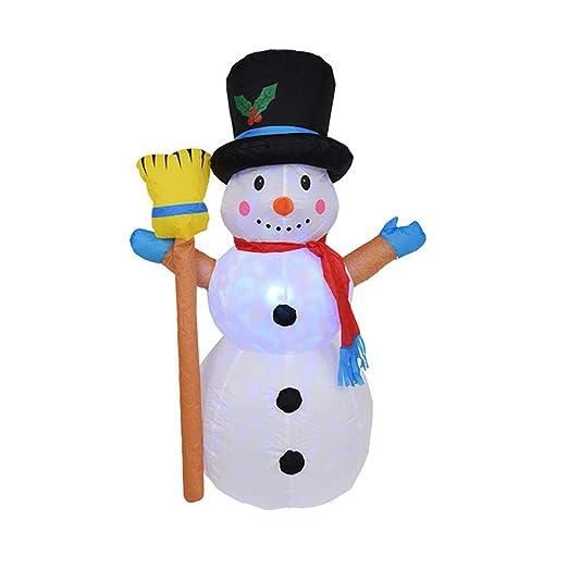 fridaymonga Muñeco De Nieve Inflable De Navidad,Decoración ...