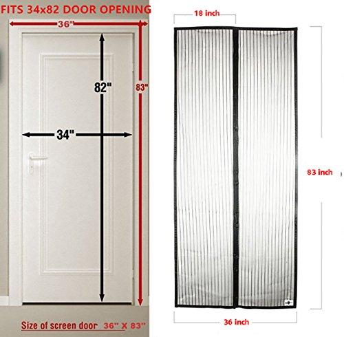 Magnetic Screen Door : Screendooryet screen magnetic door mesh