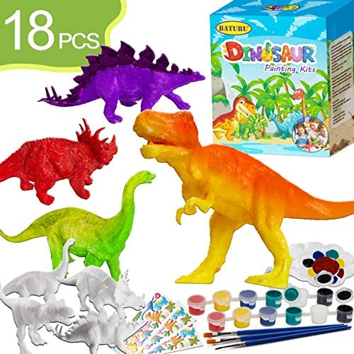 BATURU Dinosaur Painting Kits for Kids Toys Arts and Crafts for Kids Ages 4-12Party Favors for Kids