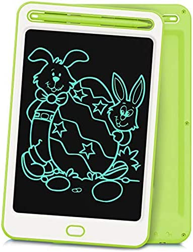 Richgv LCD Writing Tablet 8.5 Inches Electronic Writing & Drawing Doodle Board with Memory Lock for Home, School,Office Dark Green