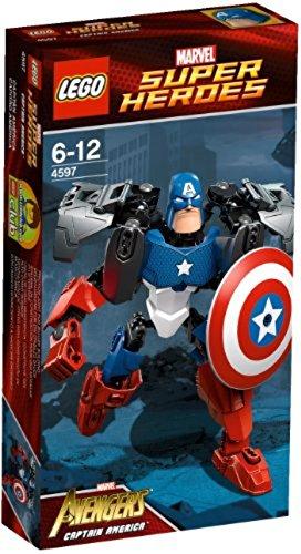 Ultrabuild América Lego 4597 Capitán Ultrabuild Lego 4597 Capitán Nyvm0wO8n