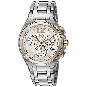 Technomarine Men's 'Manta Neo Classic' Swiss Quartz Stainless Steel Casual Watch (Model: TM-215014)