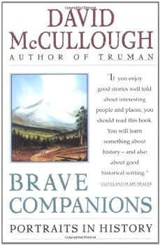 Brave Companions: Portraits in History 0671792768 Book Cover