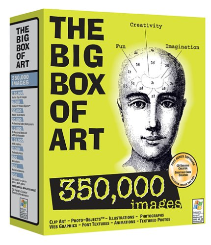 The big box of art 350000 images amazon software reheart Images