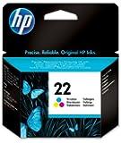 HP C9352AE - cartucho tricolor de inyección de tinta (cian, magenta, amarillo)