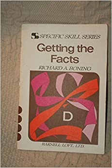 Specific Skill Series: Getting the facts D (Specific Skill Series) by Richard A. Boning (1982-08-02)