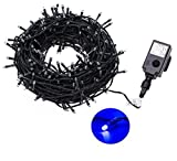 Proxima Direct 100/200/300/400/500 SELV LED String Fairy Lights Christmas Tree lights with 8 Lighting Effects ideal for Garden, Christmas Tree (Warm White, 100 LED)