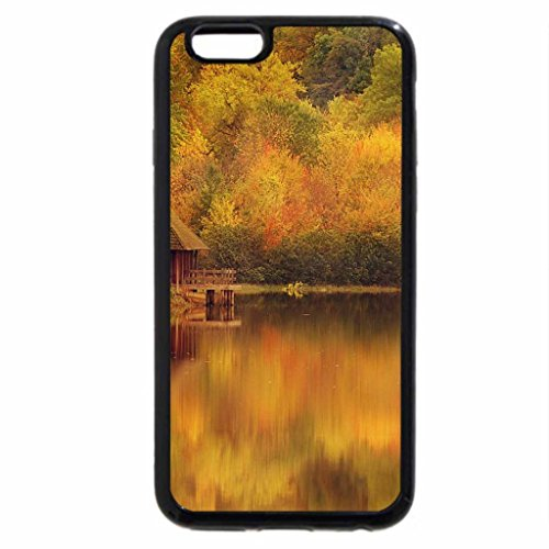 iPhone 6S / iPhone 6 Case (Black) Autumn at the lake