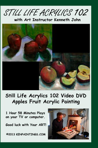 Acrylics Still Life Fruit Painting 102 Apples