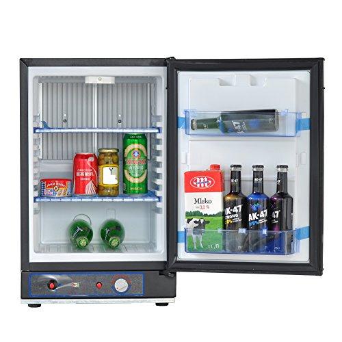 SMAD Gas Refrigerator, 3-Way Absorption Refrigerator, 40L, 110V/12V/Lpg