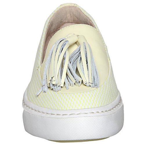 Mujer Clarks Coll Piel Cordones Beach Azul Zapatos Para De 0wqxBv06