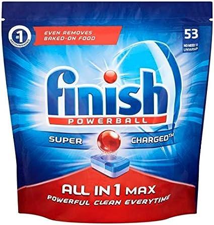 Detergente para lavavajillas Finish, 0,1 kg: Amazon.es: Salud y ...