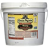 Once Again Natural Old Fashioned No Salt Smooth Peanut Butter, 9 Pound - 1 each.