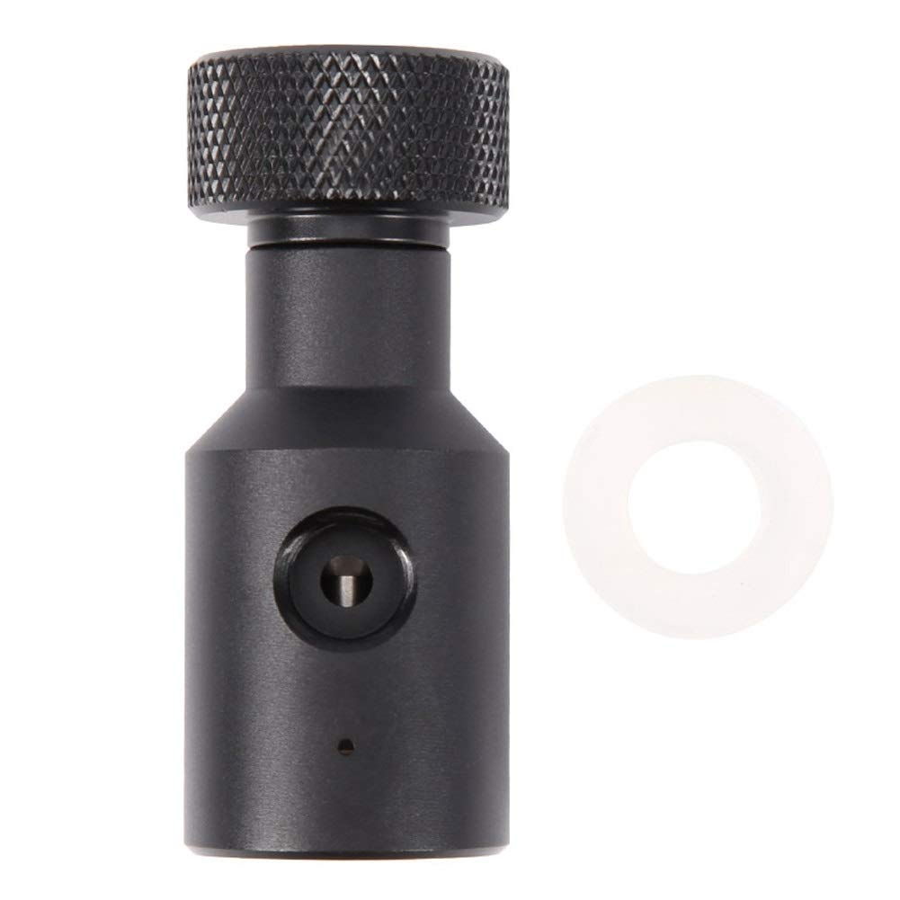 Samfox Paintball CO2 Tank Fill Adapter, CO2 Carbonator Cylinder Tank On/Off Refill Adapter for Sodastream by Samfox