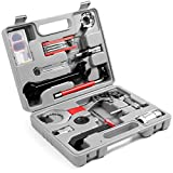 Odoland Bike Repair Tool Kit, 26 in 1 Bicycle Maintenance Tool Set with Multifunction Tool, Torque Wrench and Tool Box, Perfect for Repair Tyres, Brakes, Lights, Chains, Pedal, Mountain Road Bike