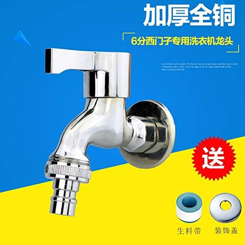 Single Basin Classroom Sink - Haiyuguagao Taps Kitchen Taps Basin Faucets Cold and Hot Water Mixer Bathroom Mixer Basin Mixer Tap Single Cold Copper for Kitchen Or Bathroom Taps sink faucet tool (Color : Copper 6 Points?)