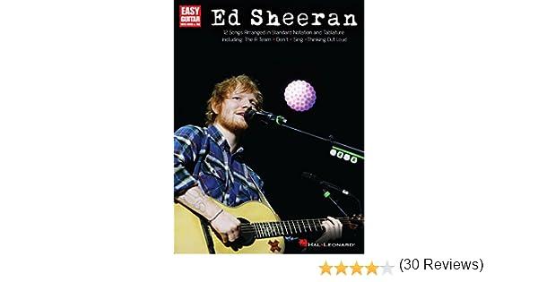 Ed Sheeran for Easy Guitar (Easy Guitar Play Along) (English ...