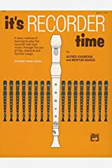 It's Recorder Time Kindle Edition
