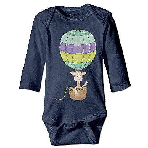Hot Air Balloon Newborn Baby Long Sleeve Climbing Clothes Infant Rompers