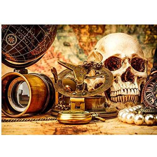 DIY Diamond 5D Embroidery Paintings,Oucan Halloween Human Skeleton 5D Embroidery Painting Kit 5D Decorating Wall Stickers 5D DIY Diamond Painting Set for Living Room(4030cm) -