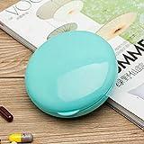 Sinwo Portable 7 Day Weekly Pill Medicine Box Holder Storage Organizer Container Case (Sky Blue)