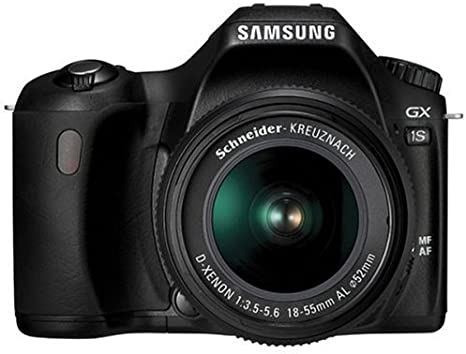Samsung GX-1S - Cámara Réflex Digital 6.1 MP (Objetivo 18-55 mm ...