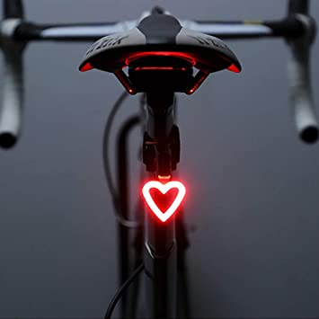 LED Bike Bicycle Cycle Front Rear Safety Light SeatPost Fit Camping Light