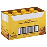Gevalia Ready To Drink Caramel Iced Coffee with Almond Milk, 11.1 Fluid Ounce -- 8 per case.