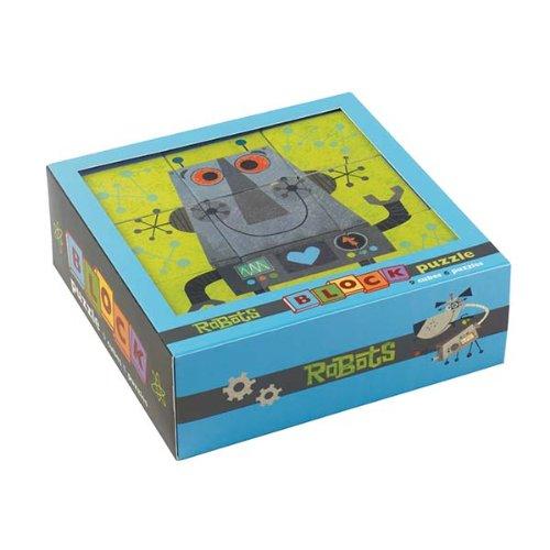 Mudpuppy Robots Block Puzzle