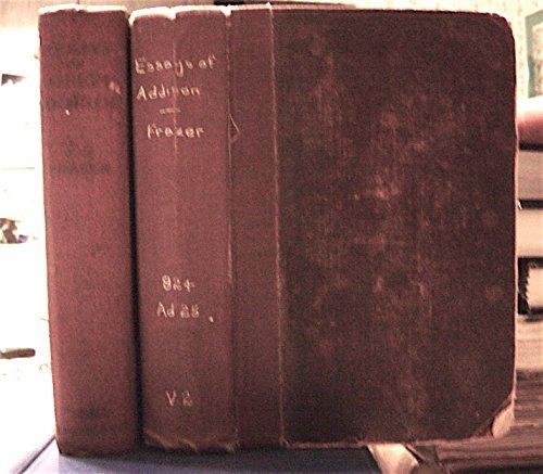 ESSAYS OF JOSEPH ADDISON: VOLUMES 1 & 2.