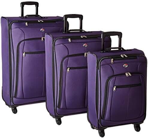 American Tourister 645901041 Pop Plus Suitcase, 3 Piece Set