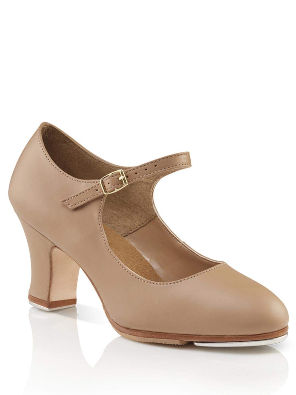 Capezio Women's Manhattan Xtreme Tap Shoe,Caramel,8 W US by Capezio
