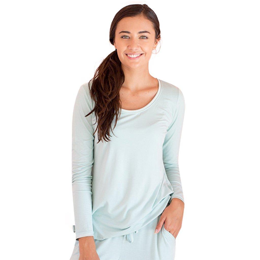 Faceplant Dreams Dreamwear Bamboo Long Sleeve Shirt at Amazon Women s  Clothing store  7aea7cf86