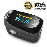 Best Pulse Oximeter For Nurses - Pulse Oximeter Fingertip Blood Oxygen Saturation Monitor SpO2 Review