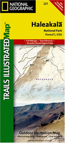 Trails Illustrated Haleakala National Park Trails Map