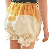 TOMORI Cute Corgi Butt Bloomers Lolita Pants Pajama Shorts Animal Plush Loungewear Sleepwear