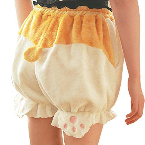 fd2a064f6e TOMORI Cute Bloomers Corgi Butt Pants Lolita Pajama Shorts Animal Loungewear  Sleepwear