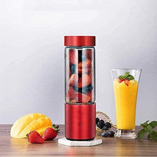 Exprimidor eléctrico Taza Exprimidor mini Exprimidor doméstico Exprimidor de fruta Pequeña máquina de jugo de fruta Portátil recargable con taza