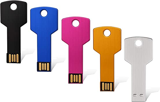 5PCS 2.0 32GB USB Flash Drives Thumb Drives Memory Stick