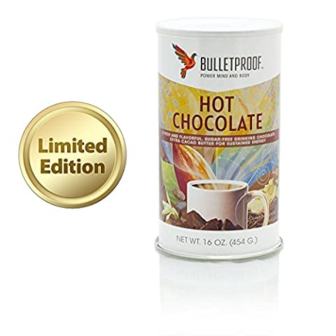 Bulletproof Limited Edition Hot Chocolate Mix,sugar free 16 oz. - Hot Chocolate With Cocoa Powder