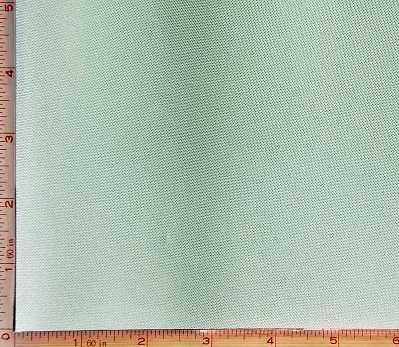 Light Green Shiny Mock Interlock Pique Fabric 2 Way Stretch Polyester 6 Oz 58-60