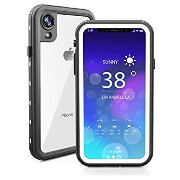 ChuWill Funda Impermeable iPhone XR, Carcasa iPhone XR, Certificado IP68 Antigolpes Sumergible Protección 360º Funda para iPhone XR (6.1 Inch) - ...