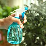 Gillberry Empty Spray Bottle Plastic Watering The Flowers Water Spray For Salon Plants (blue)