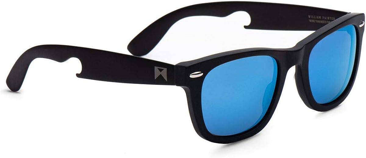 William Painter The Hook Titanium Polarized Sunglasses for Men and Women