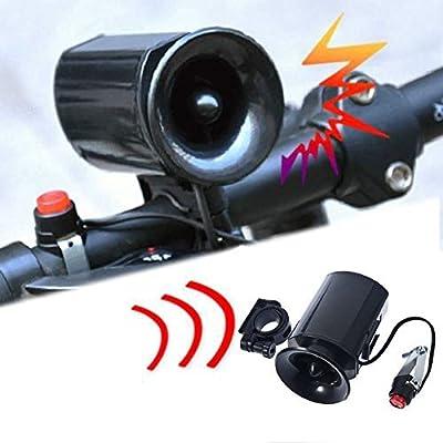 Bicycle Bike Ultra-loud Bell 6 Sound Horn Alarm Siren Speaker Electronic AP