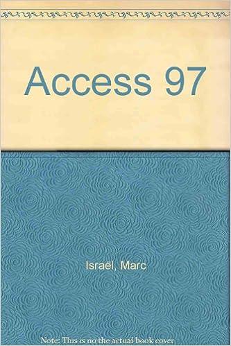 Joomla ebook télécharger Access 97 en français PDF ePub by Marc Israël