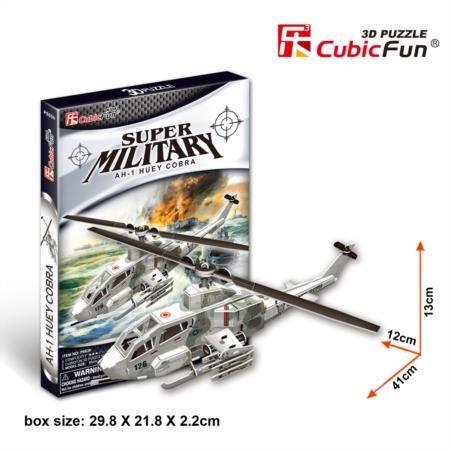 Cubic Fun P603H AH-1 Huey Cobra Helicopter