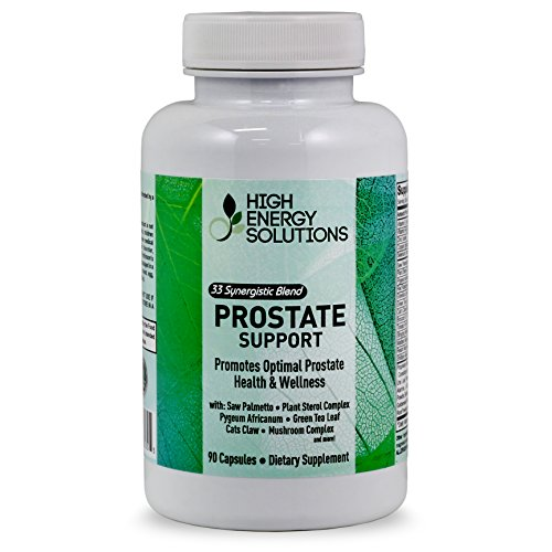 Prostate Supplement - Saw Palmetto Plus 30 Herbs, Vitamins, Minerals - Support For Optimal Prostate Health - Promotes Sexual Health, Reduces Urination - Hair Loss - 90 Veg Caps - USA - 100% Guarantee